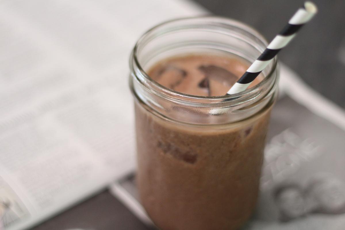 Cacao Peanut Butter Banana Acai Smoothie